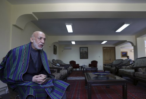 AP Interview: Former president says US failed in Afghanistan
