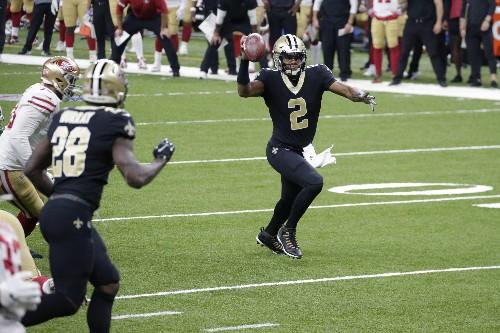 The Latest: Quarterbacks drafted No. 1 shine around NFL
