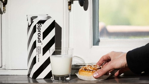 Sproud Raises $6.5 Million for Expansion of Pea-Based Milk