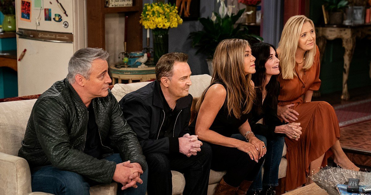 The 'Friends' reunion updated the opening credits — and it's perfect