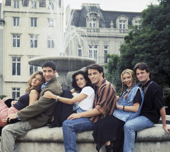 """Revisiting """"Friends"""" in Honor of the Reunion Show"""