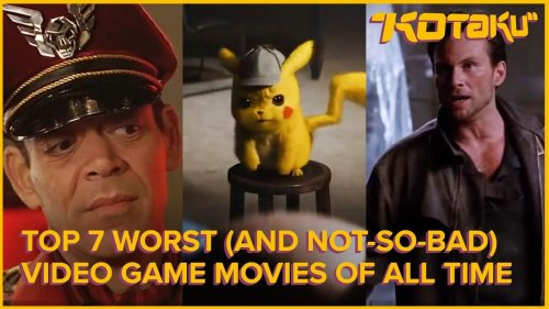 What Are the Worst Video Game Movies Ever Made?