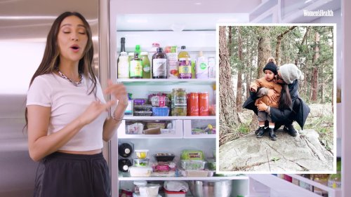 What Shay Mitchell Eats to Fuel Her Busy Mom Life | Fridge Tours