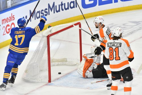 NHL roundup: Sabres rout Flyers, end run of futility at 18 games