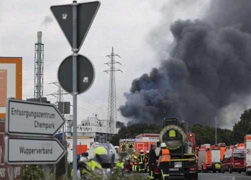 1 killed, 4 missing in German chemical blast; 31 injured