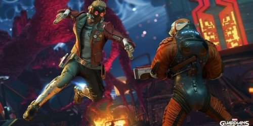 Something's Off About Star-Lord in Square Enix's Guardians of the Galaxy