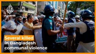 Several people killed after violence erupts during Bangladesh Hindu festival
