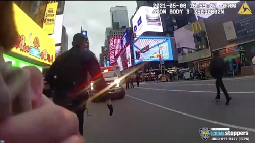 'There's a baby?' NYPD releases bodycam footage of officer rescuing 4-year-old Times Square shooting victim
