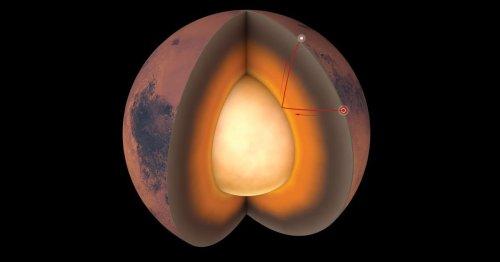 NASA Reveals First-Ever Look at Mars' Interior