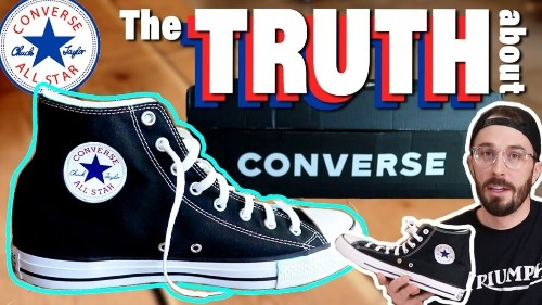What's Inside Converse? Why So Uncomfortable?