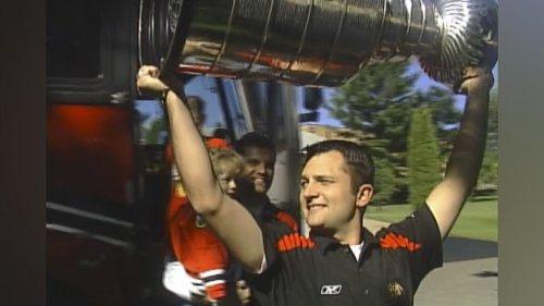 2010: Chicago Blackhawks video coach Brad Aldrich talks about Stanley Cup