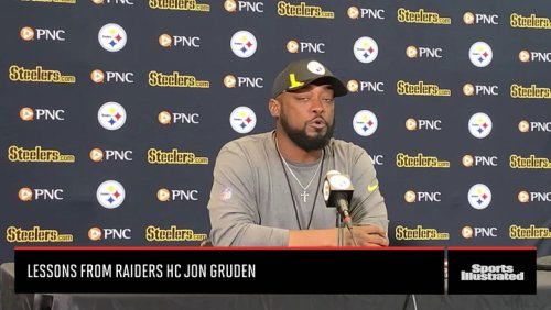 Steelers HC Mike Tomlin on Lessons From Raiders HC Jon Gruden