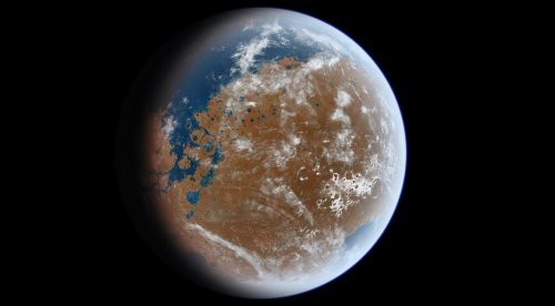 What If Mars Never Lost Its Water?