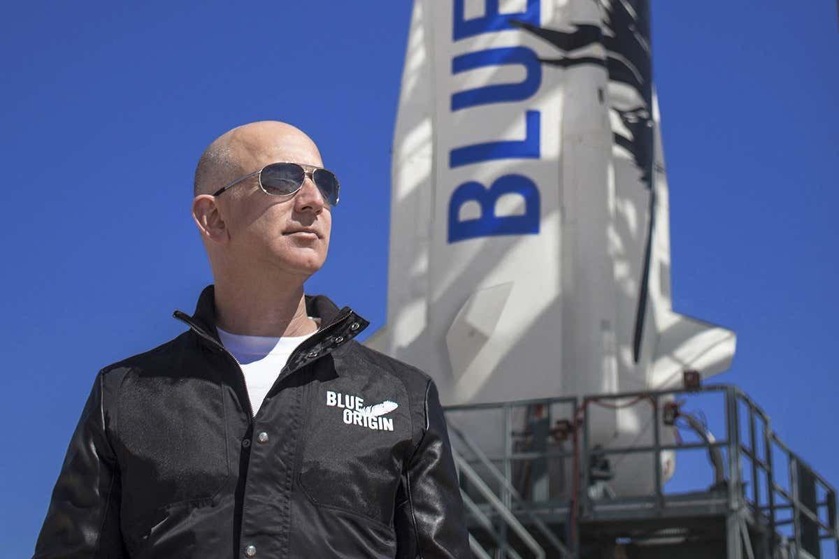 Blue Origin founder Jeff Bezos has ridden his own rocket to space