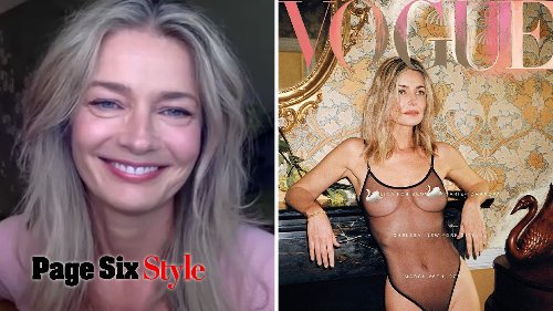 Paulina Porizkova Talks 40 Year Anniversary of Vogue Cover