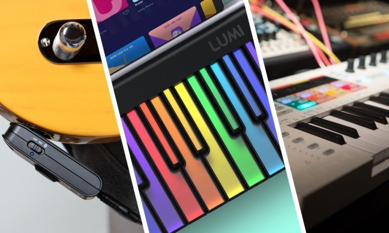 The best music gadgets for musicians—a smart amp, a wearable music ring, & more