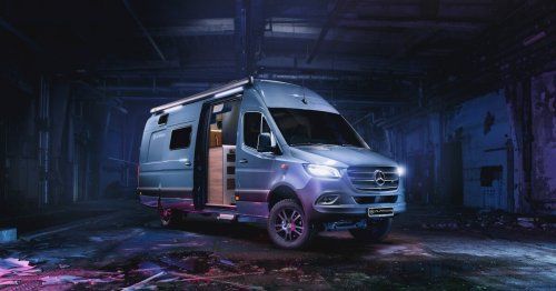 Go off-road with the latest 4X4 Camper Vans