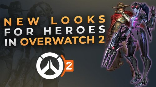 Check out these new looks for Overwatch characters in Overwatch 2