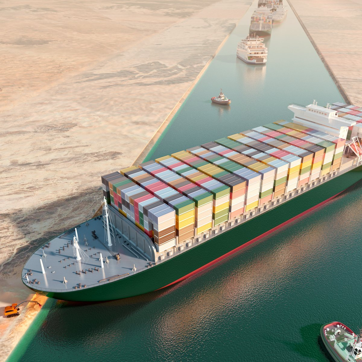 Listen: Stranded Suez Canal Ship Freed!
