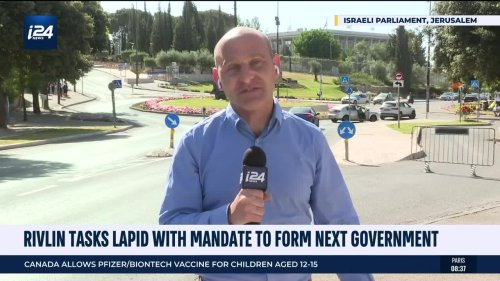 Rivlin tasks Lapid with mandate to form next government