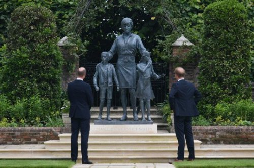 Princess Diana unites William and Harry as her legacy is remembered