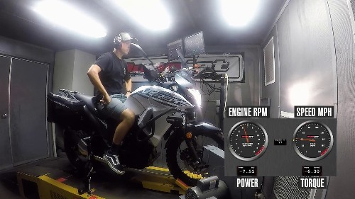 2020 Kawasaki Versys-X 300 Dyno