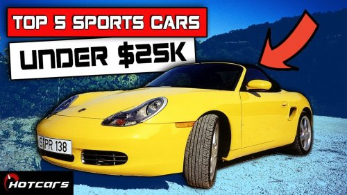 Top 5 Sports Cars Under $25,000!
