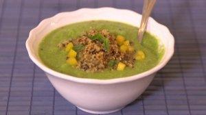Quarantine Cooking: Chilled Cucumber Soup with Crispy Quinoa Garnish - Flipboard