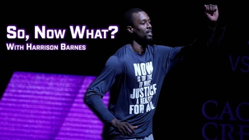 Sacramento Kings' Harrison Barnes Works On Closing the Wealth Gap