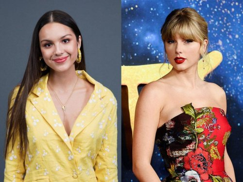 Olivia Rodrigo says Taylor Swift told her in a letter to 'make your own luck in the world'