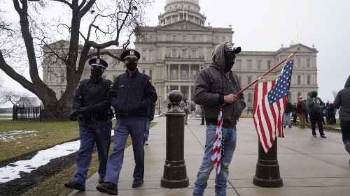 Muted Protests Across The Country After States Fortified Security