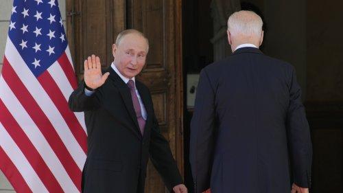 President Biden And Russian President Vladimir Putin Meet In Geneva