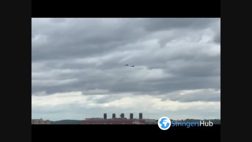 US: F-22s Fly Over DC For The Dedication Of New WWI Memorial
