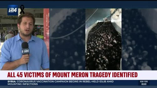 All 45 Victims of Mount Meron Tragedy Identified