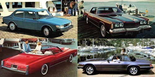 The most 'yacht rock' cars in American history