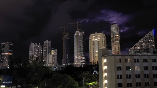 Stunning Timelapse Footage Shows Lightning in Miami-Dade County