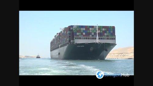 Egypt to release megaship impounded over Suez blockage