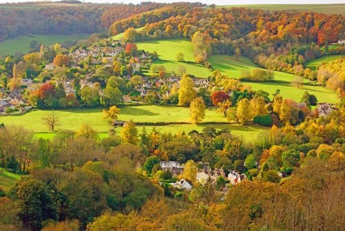 HIKING THE COTSWOLD WAY AROUND BATH AND BRISTOL