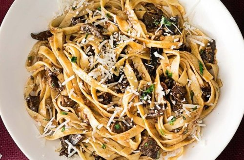 Wild Mushroom Pasta Will Become Your Weeknight Go-To