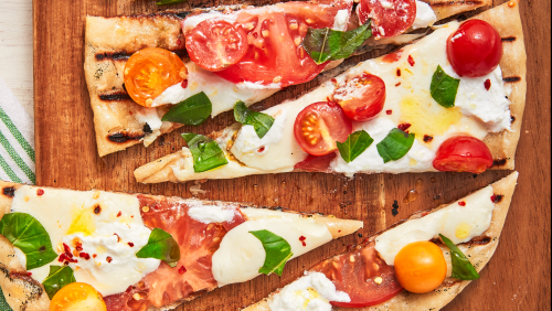 Grilled Pizza Is Better Than In A Wood Fire Oven