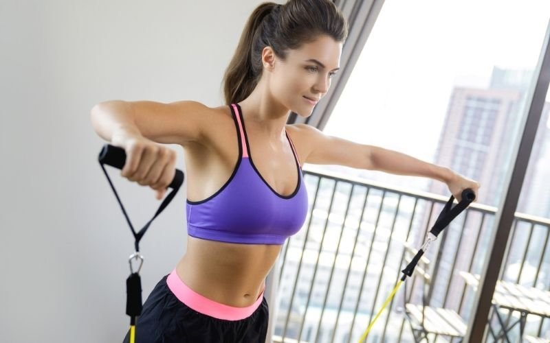 40 Exercises You Can Do at Home With a Resistance Band to Get Fit