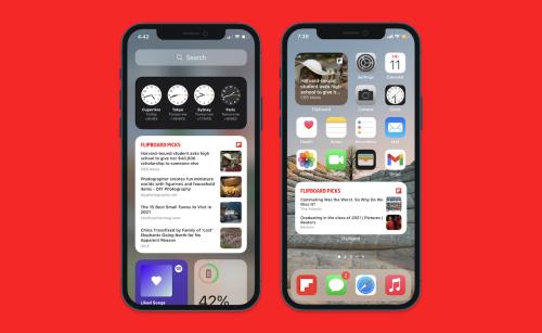 How Apple's Widget Push Changes The App Game - Flipboard