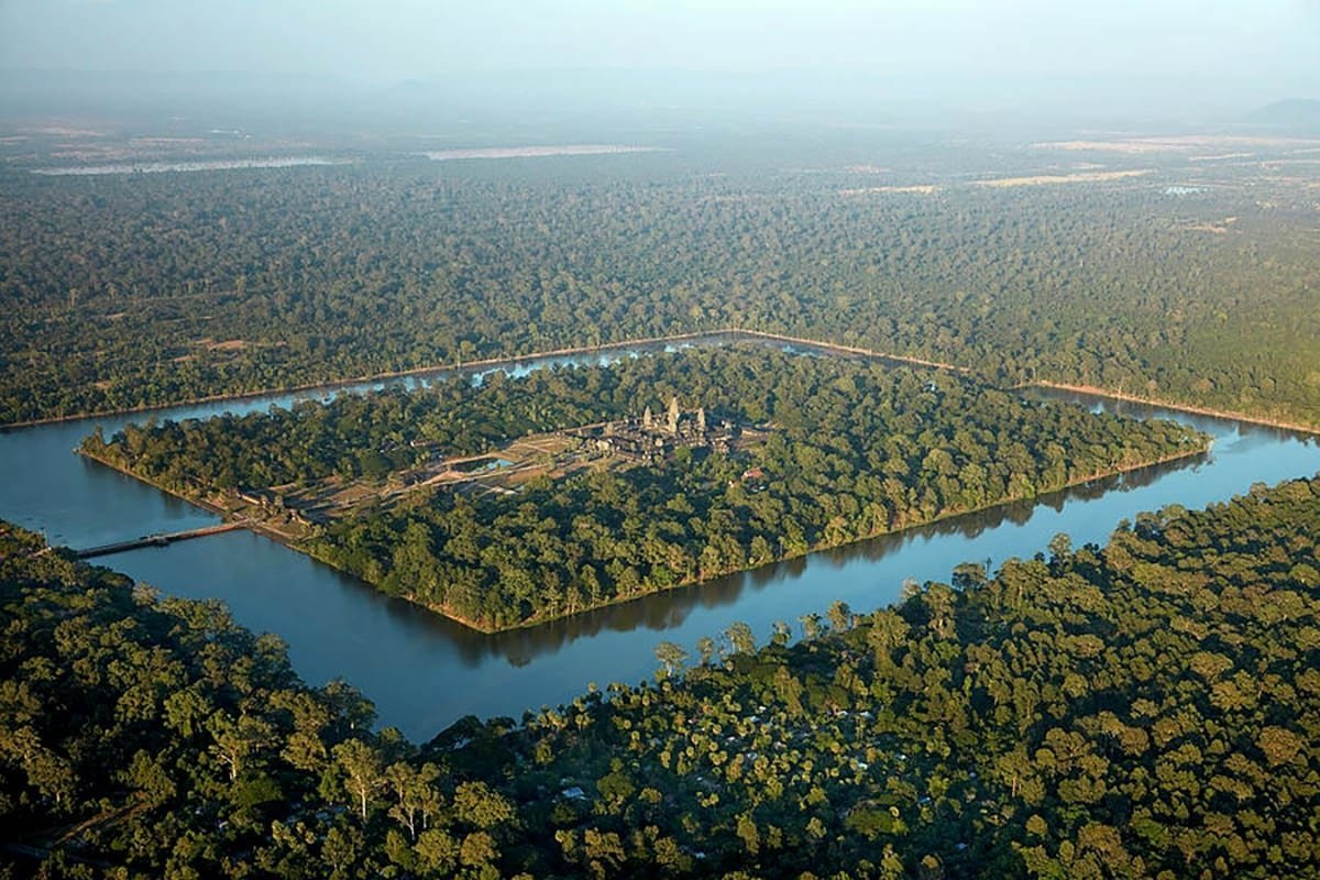 How Did Hydro-Engineering Help Build The Khmer Empire?