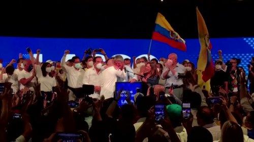 Ecuador shuns socialism in election surprise