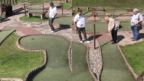 ''Tiger Woods who?' Man nails unbelievable shot while playing beach golf '