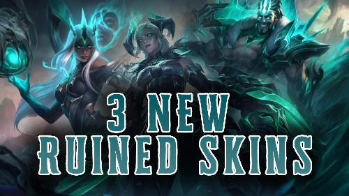Do you want to look EVIL in the new RUINED skins?
