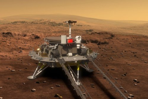 China to Make High-Stakes Attempt to Land Zhurong Rover on Mars