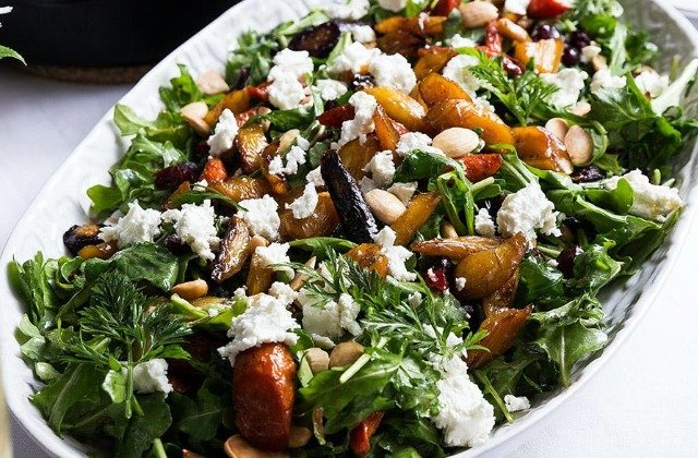 You Shouldn't Pass Up Ina Garten's Maple-Roasted Carrot Salad