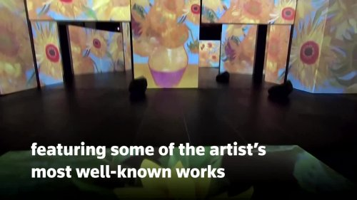 Record-breaking Van Gogh experience opens in Munich