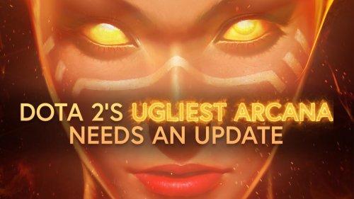 Dota 2's UGLIEST ARCANA needs an update